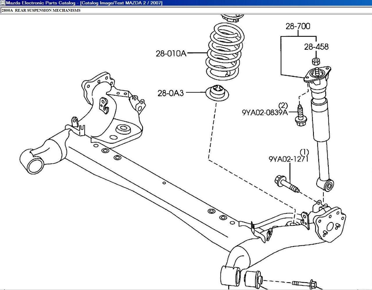 2010 mazda 3 parts diagram rockford fosgate capacitor wiring rear suspension imageresizertool com