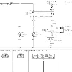 Simple Wiring Diagram For Fog Lights 2002 Dodge Trailer Mazdasd 3 Light Parts Auto
