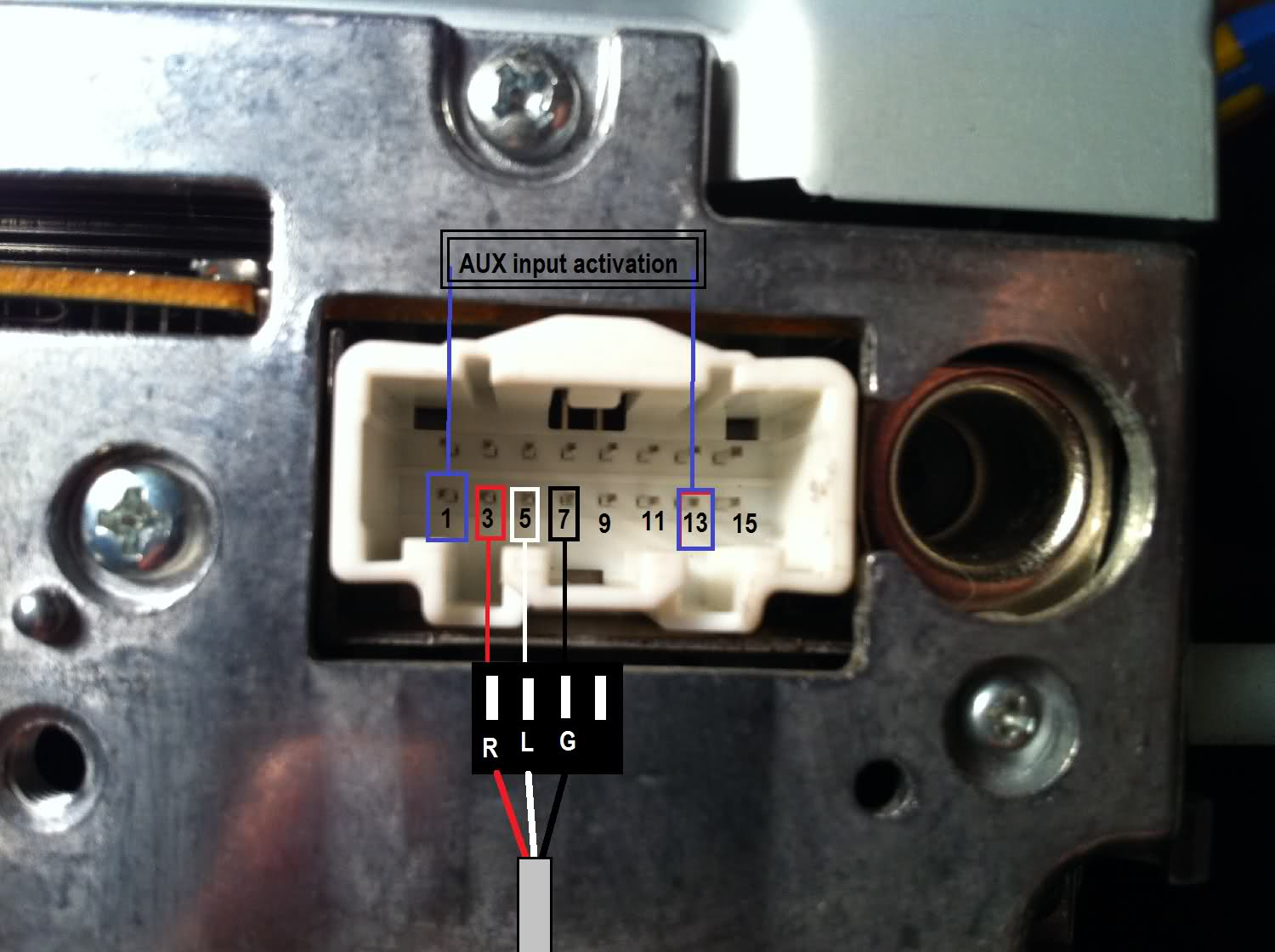 usb cord wire diagram wiring for contactor rx8 aux - rx8club.com