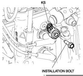 A Knock Sensor On 1999 Jeep Cherokee Ford Bronco Knock