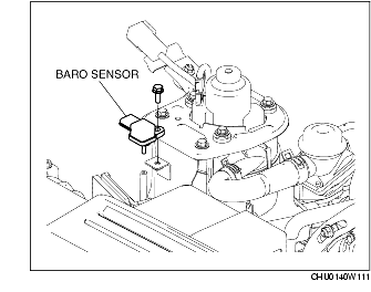 Baro sensor/Map Sensor/ Pressure sensor.. Where does the