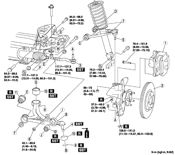 Mazda 3 Transmission Diagram 2000 Mazda Protege Engine