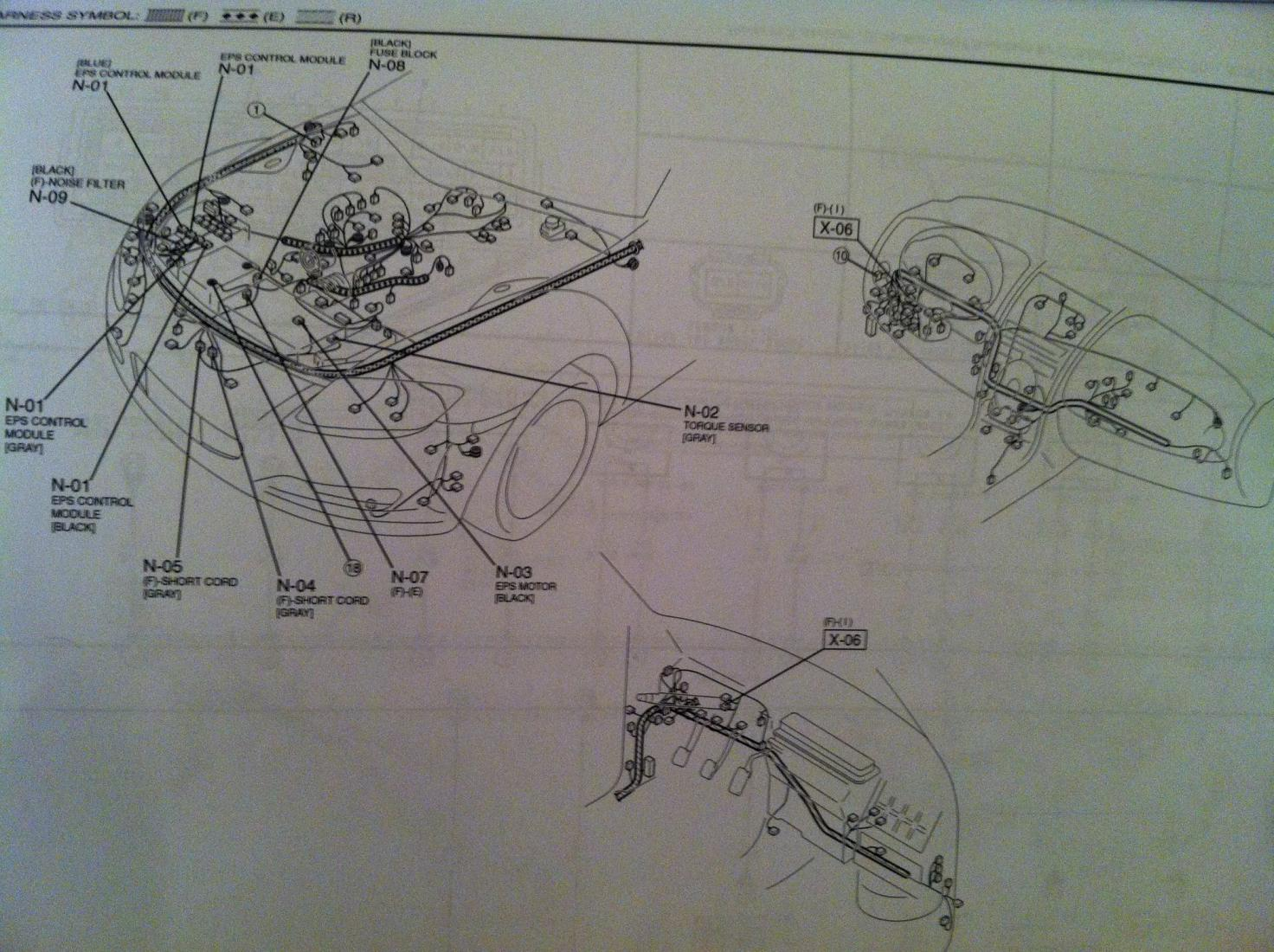 Power Steering Wiring Diagram Needed Rx8clubcom