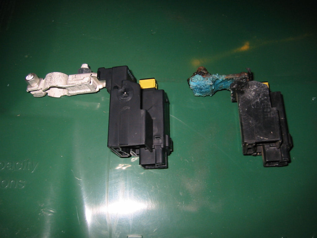 Fuse Box Clean Battery Terminal Part Corroded Question Rx8club Com