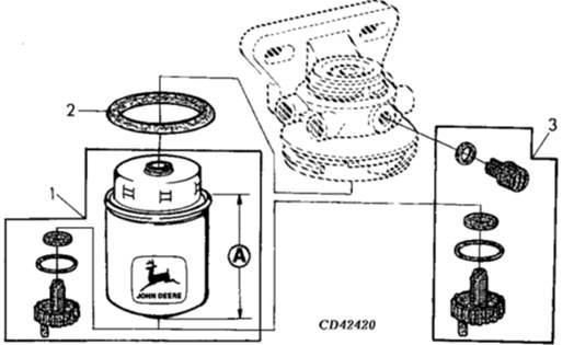 John Deere约翰迪尔强鹿柴油发动机柴油滤清器配件销售维修维护技术零件资料手册-技术中心