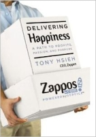 Delivering Happiness Book Cover
