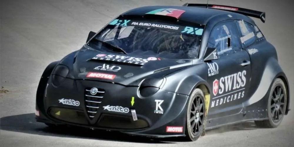 Prove di Rallycross per Jacopo Trevisani