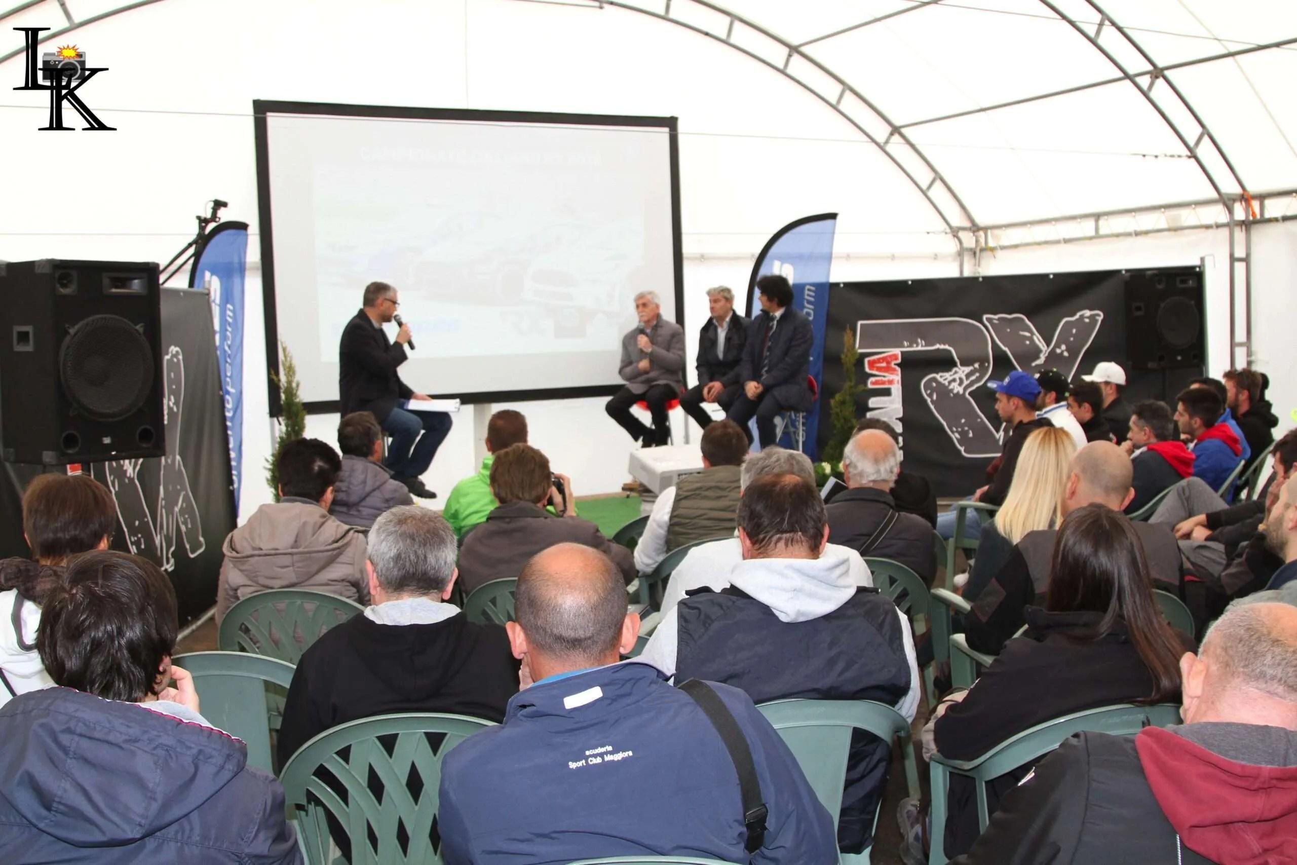 Oggi a Maggiora la presentazione del Campionato Italiano Rallycross 2019