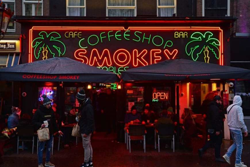 Myasthenia Gravis help was found at this Amsterdam Night Coffee and Smoke Shop