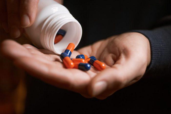 pills, maybe oxy