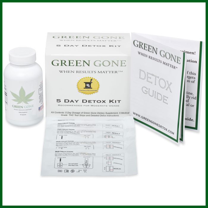 green gone detox 5 day kit box