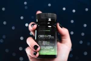 Nutracann CBD sleep aid