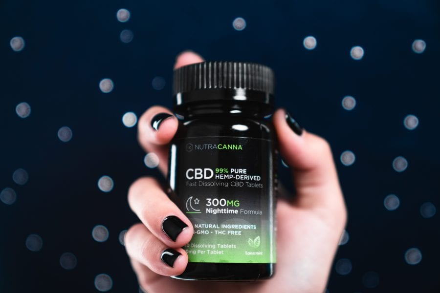 Nutracann CBD sleep aid