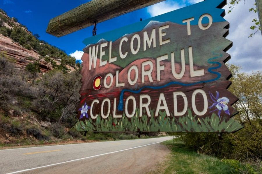 """sign for colorado where you might want to ask hot to """"Clear My Record"""""""
