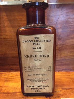 cannabis museum nerve tonic