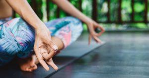 spiritual ally indian woman in yoga pose