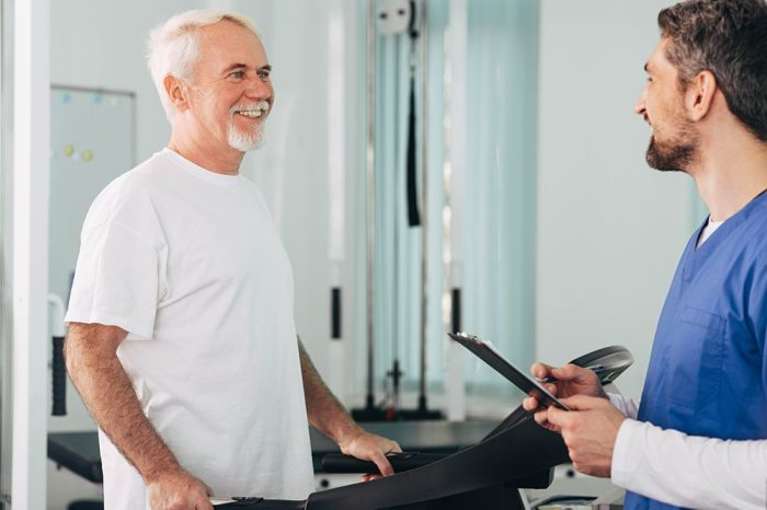 acute inflammation isn't stopping this healthy older adult