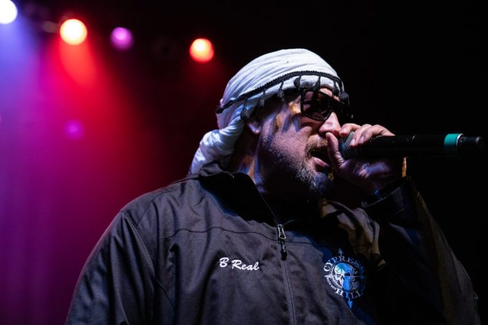 rapper and Cypress Hill Gang Member B-Real