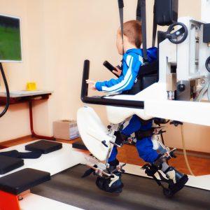 spinal injury boy in rehab