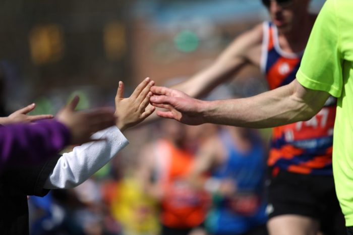 body fat and thc represented bymale and female runners in boston marathon