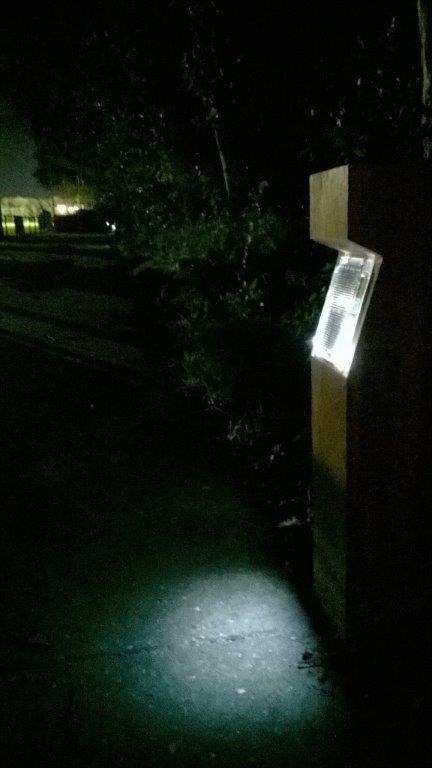 Schagen - Solar bollard