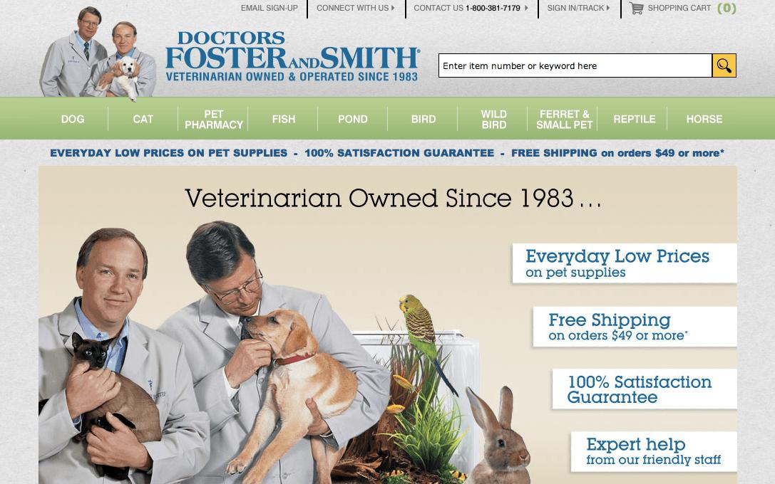 Drsfostersmith.com Review: Unreliable Pet Store - RXLOGS