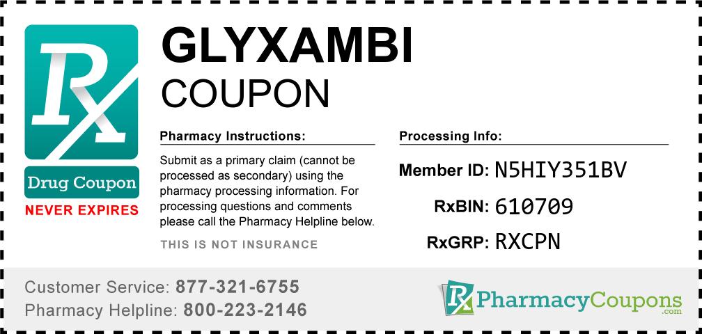 Glyxambi Coupon - Pharmacy Discounts Up To 90%
