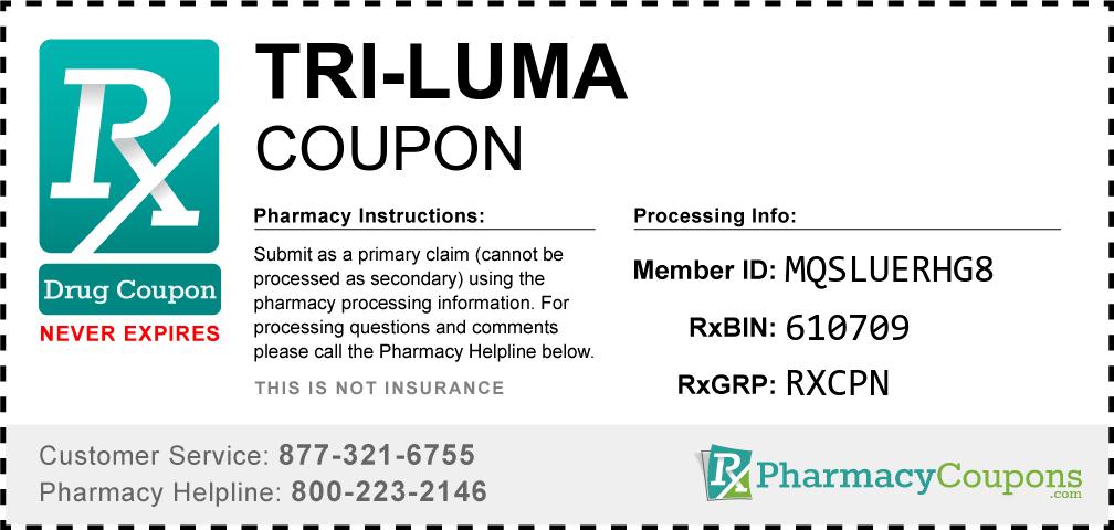 Tri Luma Coupon - Pharmacy Discounts Up To 80%