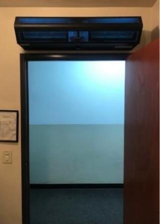 mars uvc sanitizing air curtain
