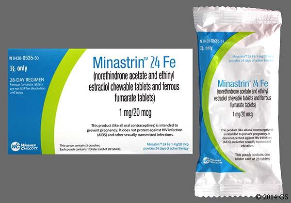 Minastrin 24 Fe (melodetta 24 fe) Prices & Free Savings ...