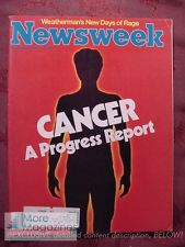 Newsweek Cancer Issue