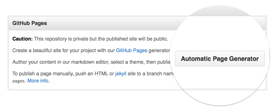 Manage GitHub Project Pages with Mercurial and TortoiseHG