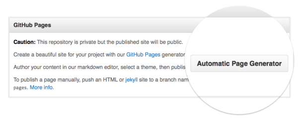 github.project.page.generator
