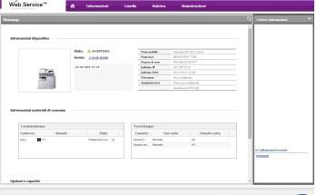 Samsung SCX 6555N Series - Password Amministratore e Configurazione via HTTP