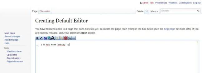 mediawiki-default-editor