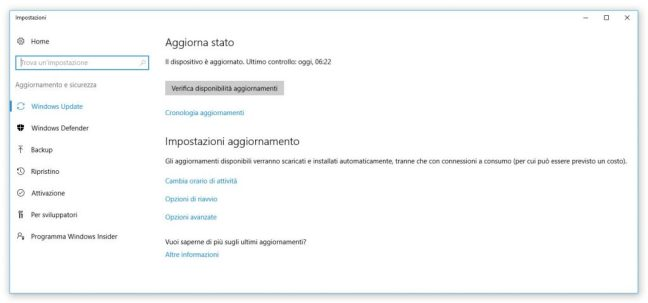 windows-impostazioni-windows-update