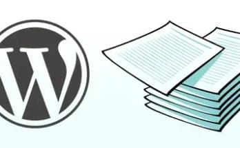 Come scrivere un articolo multi-pagina con Wordpress
