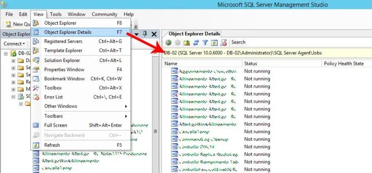 Come effettuare la copia, il backup e il ripristino di uno o più processi (jobs) SQL Agent in SQL Server 2008-2017