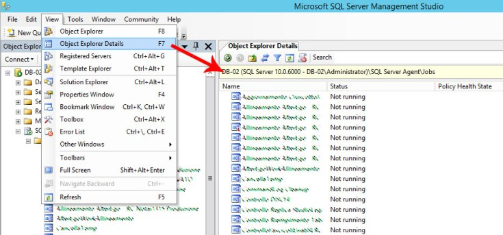 How to copy, backup and restore one or multiple SQL Agent Jobs in SQL Server 2008-2017