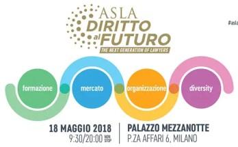 Evento ASLA Diritto al Futuro - 18 Maggio 2018 - Programma, Video, Foto e Sintesi
