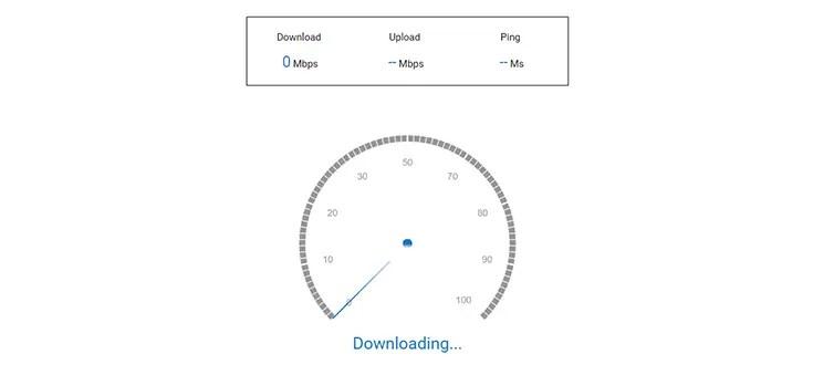 download speed test.net