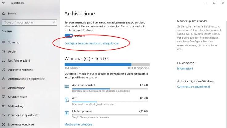 Come eliminare la cartella Windows.old su Windows 10