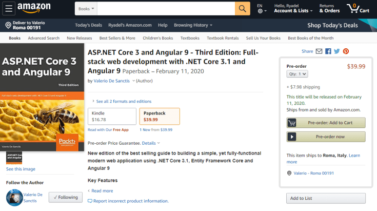 My new Angular book is not out yet, but is already a scam