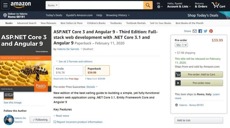 Il mio nuovo libro su Angular non è ancora uscito, ma è già uno scam