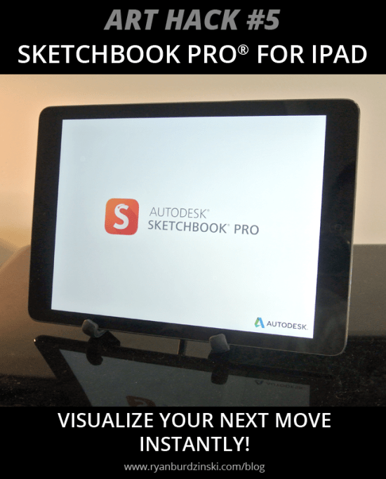 Art Hack- Sketchbook Pro- by Ryan Burdzinski