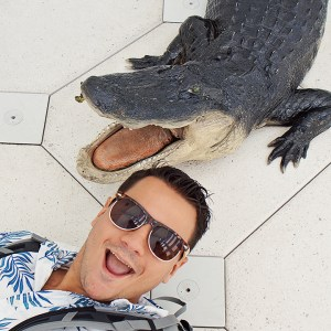 Me with a Gator