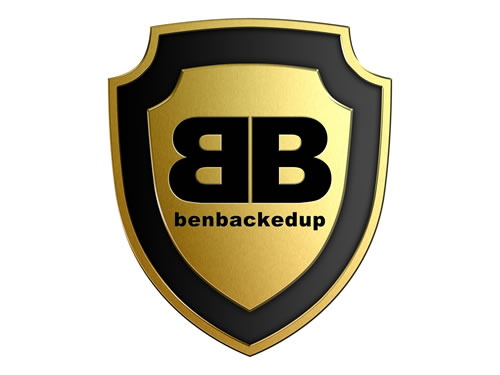 BenBackedUp Logo