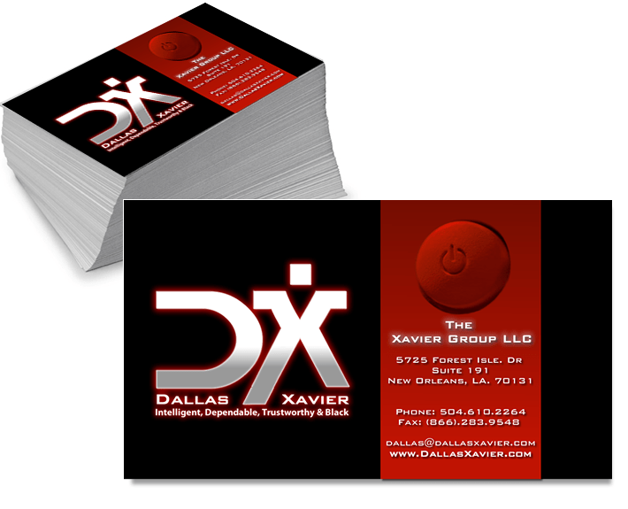 Dallas Xavier Business Cards
