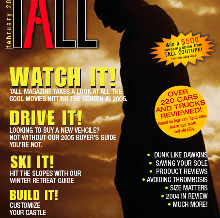 My Tall Housing Article in Tall Magazine