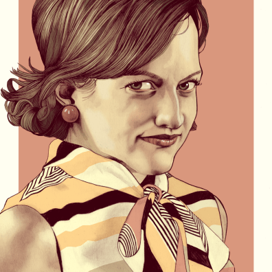 Peggy-Mad-Men-Illustration-portrait